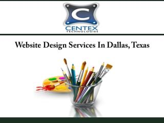 Website Design Services In Dallas, Texas