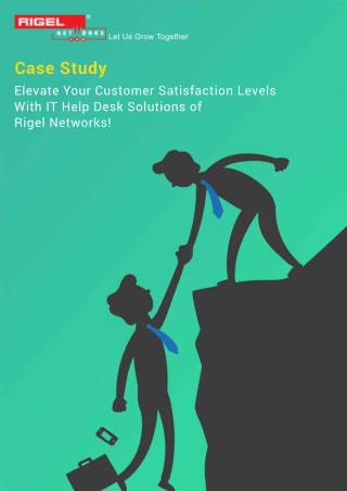 Elevate your Customer satisfaction Levels with IT Helpdesk Solutions!
