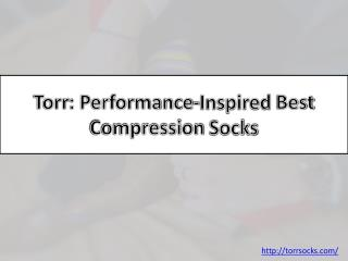 Torr: Performance-Inspired Dress Socks