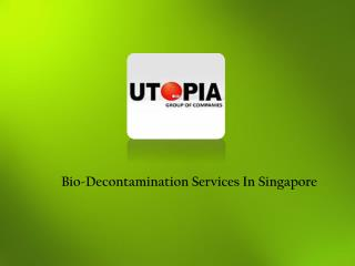 Bio-Decontamination Singapore