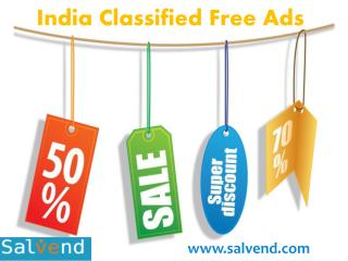 About India Classified Free Ads