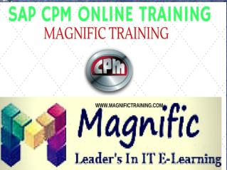 sap CPM online training in australia