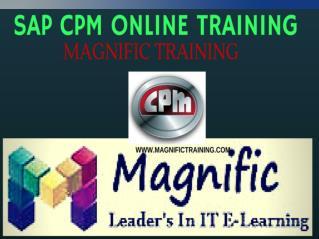 sap CPM online training in uk