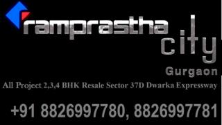 Flats Hi Flats For Resale In Ramprastha City The Edge Tower Sector 37D Gurgaon Dwarka Expressway Call  91 8826997780