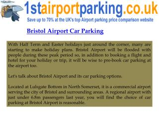Airport Car Parking Bristol