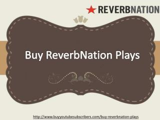 Buy Reverbnation Plays � The Power Booster for your Track