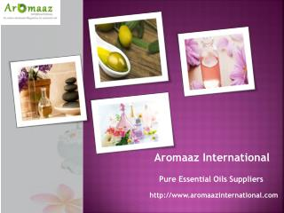 Essential oils wholesale @ aromaazinternational.com