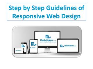 Step by Step Guidelines of Responsive Web Design