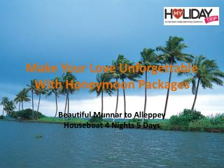 Make Your Love Unforgettable With Honeymoon Packages