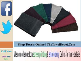 Shop Towels Sets Online In USA
