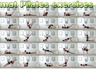 Mat Pilates Exercises