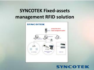 SYNCOTEK Fixed-assets management RFID solution