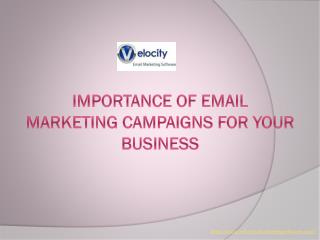 Importance Of Email Marketing Campaigns For Your Business