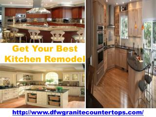 Get Your Best Kitchen Remodel