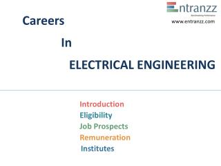 Carers In ELECTRICAL ENGINEERING