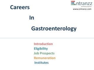 Careers In Gastroenterology