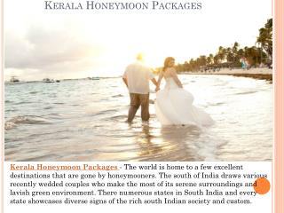 Kerala Honeymoon Packages - Ideas to Make it Memorable