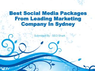 Best Social Media Packages From Leading Marketing Company In Sydney