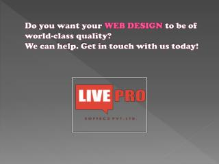 Livepro Softech Pvt. Ltd.