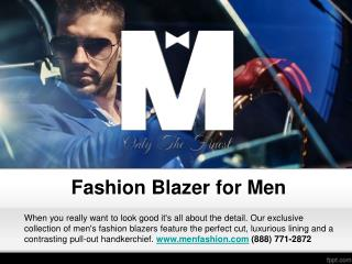 Fashion Blazer for Men