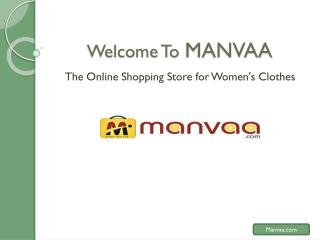Manvaa � Online Shopping for Designer Sarees in India