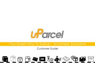 uParcel courier delivery service customer guide