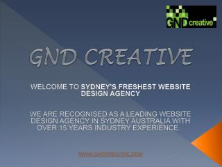 Famous Website Design Agency Sydney