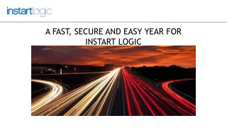 A Fast, Secure And Easy Year For Instart Logic