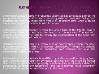 Flat Head Syndrome - A Information to Head