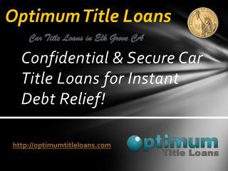 Optimum Title Loans