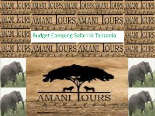 Budget Camping Safari in Tanzania