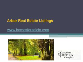 Homes for Sale in Arbor - www.homesforsalein.com