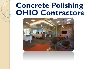 Concrete Polishing OHIO Contractors