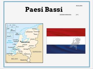"Lavoro geografia "" PAESI BASSI"""