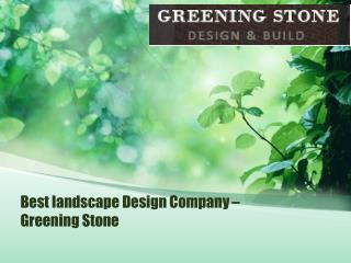 Best Landscaping Company in NYC -  Greening Stone