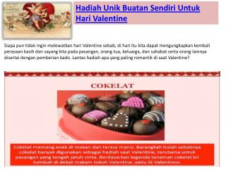 Hadiah Paling Romantis untuk Valetine's Day