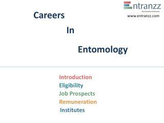 Careers In Entomology Entomology