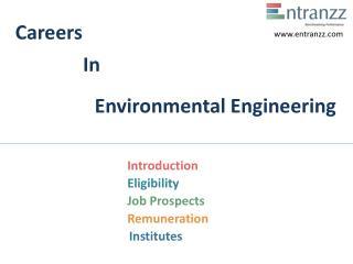 Careers In Environmental Engineering