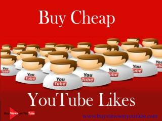 Buy Cheap YouTube Likes