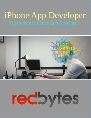 How To Hire A iPhone App Developer
