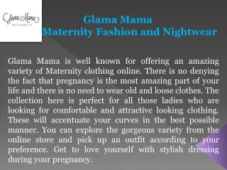 Glama Mama- Maternity Tops Online