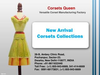 Corsets, Design corsets for latest fashion lovers