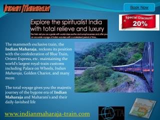 Indian Maharaja Train Itinerary