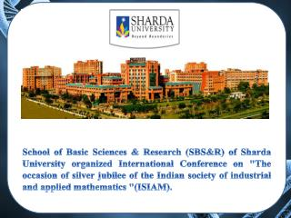 Sharda University Organized a National Seminar