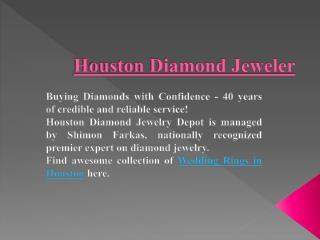 Stunning Wedding Ring in Houston