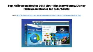 Top halloween movies 2015 list – rip scary,funny,disney,halloween movies for kids or adults