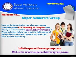 Best PTE coaching in Gurgaon