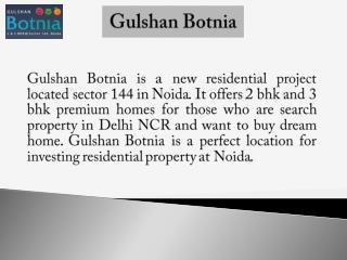 Gulshan Botnia Noida Residential Project