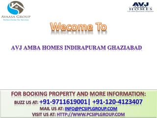 AVJ Amba Homes @# 91-9711619001 #@ Avj Group