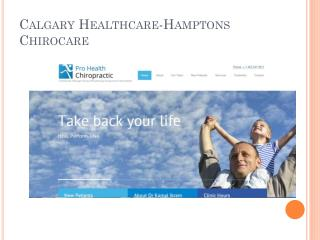 Calgary Healthcare